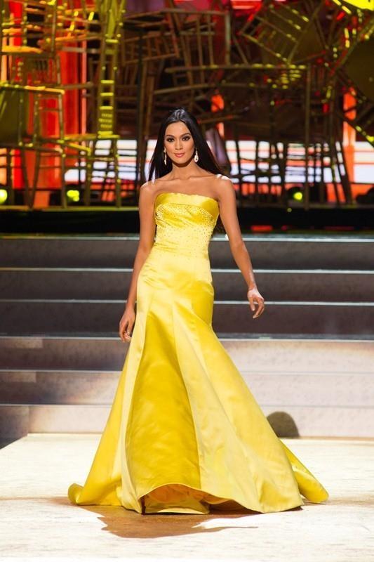Váy dạ hội vàng của H'Hen Niê được xếp đẹp nhất thế giới - ảnh 7