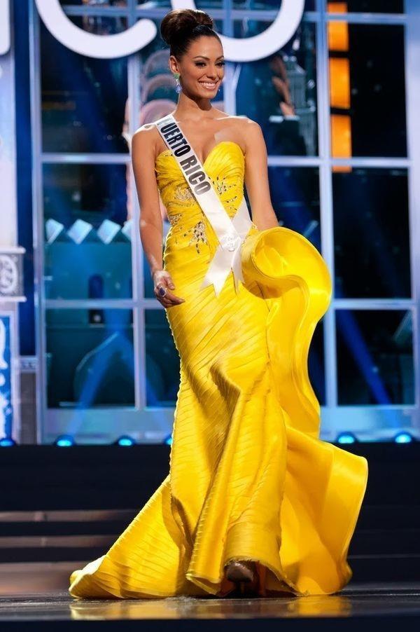 Váy dạ hội vàng của H'Hen Niê được xếp đẹp nhất thế giới - ảnh 10