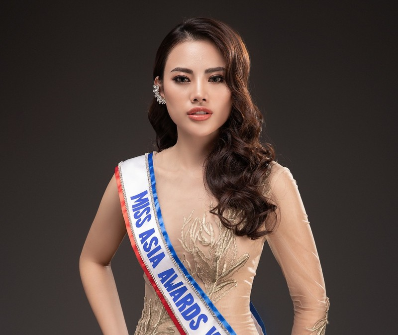 Hà Vi Vi tham dự Miss Asia Award 2019 - ảnh 1