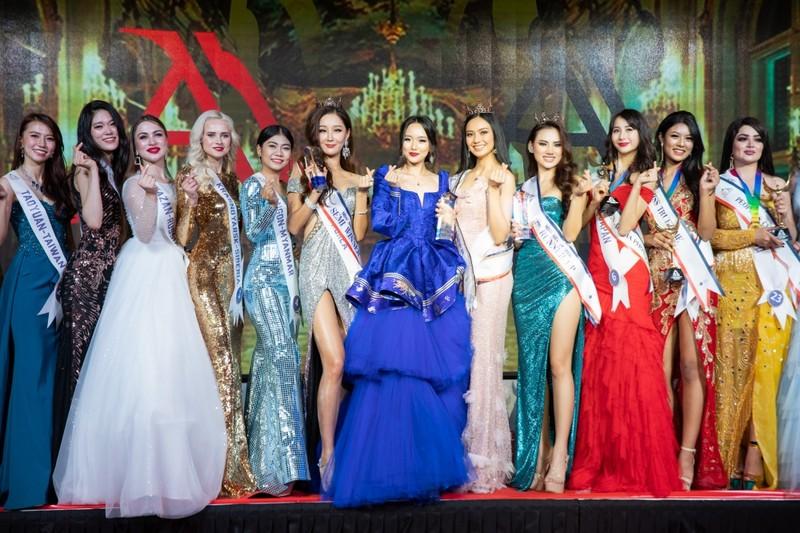 Vẻ đẹp bốc lửa của Á hậu châu Á 2019 Hà Vi Vi  - ảnh 11