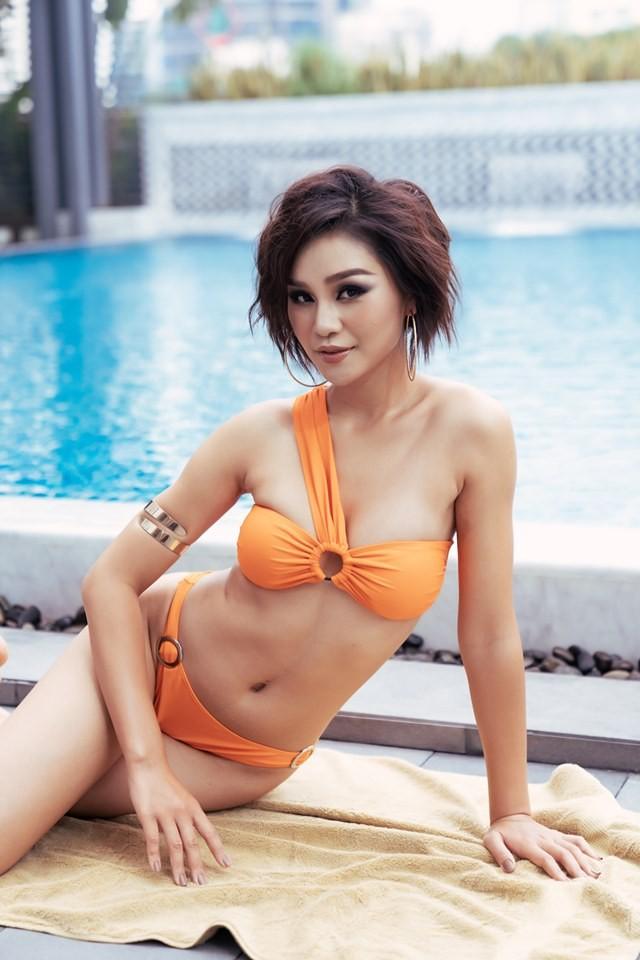 Người đẹp Hoa hậu Hoàn vũ Việt Nam 2019 nóng bỏng với bikini - ảnh 4