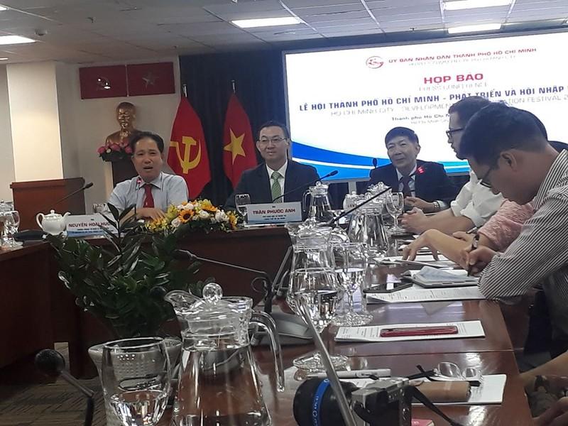 Lễ hội TP.HCM và quốc tế trên phố đi bộ Nguyễn Huệ - ảnh 1