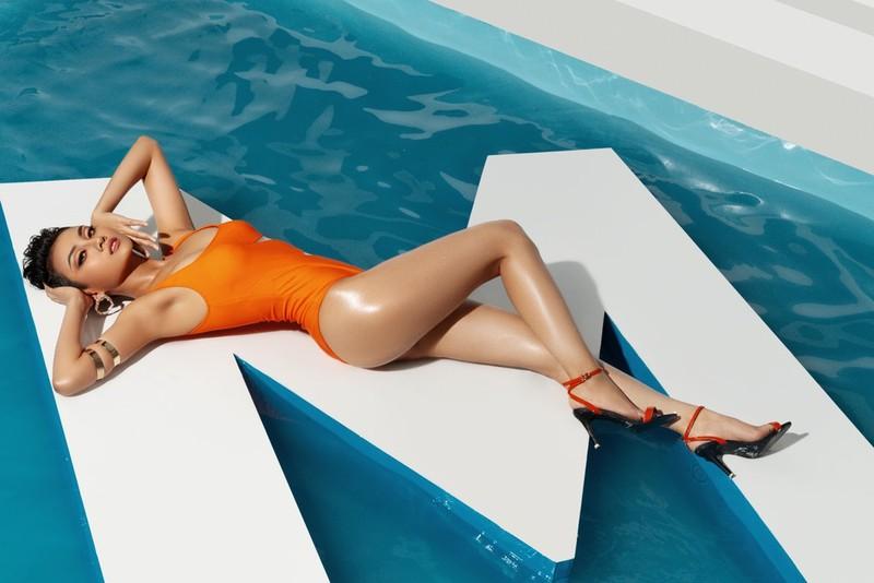 Người đẹp Hoa hậu Hoàn vũ Việt Nam nóng bỏng bikini  - ảnh 8
