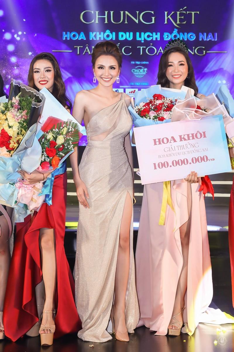 Đỗ Nguyễn Như Huỳnh đăng quang Hoa khôi Du lịch Đồng Nai 2019 - ảnh 2