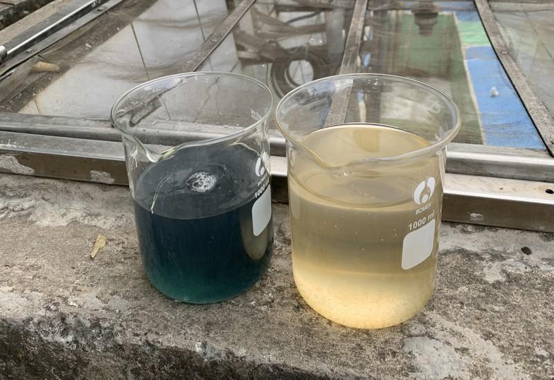 Bắt quả tang công ty xử lý nước thải xả trộm ra môi trường - ảnh 3