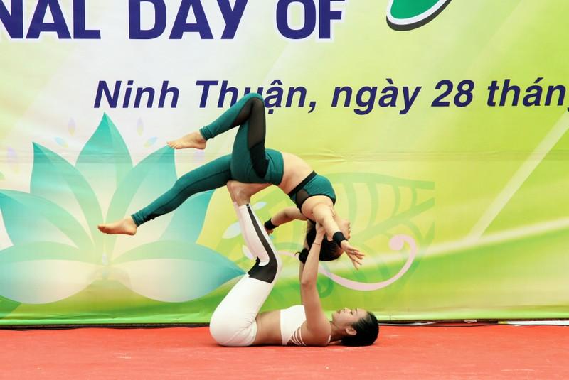 Gần 1.000 người đồng diễn 'Ngày quốc tế Yoga' tại Ninh Thuận  - ảnh 3