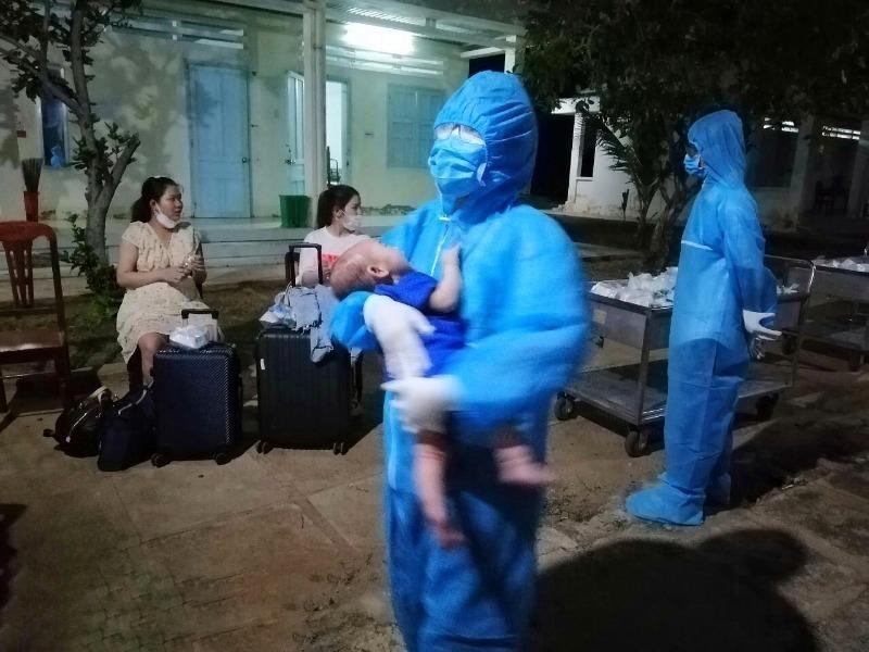 Ninh Thuận đón 358 công dân từ Nhật Bản về nước an toàn  - ảnh 1