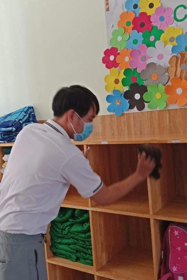 Ngày đầu Ninh Thuận cho học sinh đi học sau kỳ nghỉ do dịch  - ảnh 6
