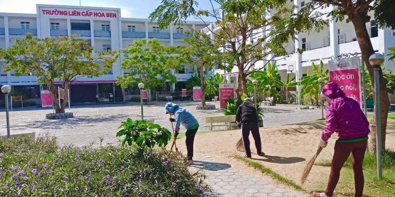 Ngày đầu Ninh Thuận cho học sinh đi học sau kỳ nghỉ do dịch  - ảnh 5