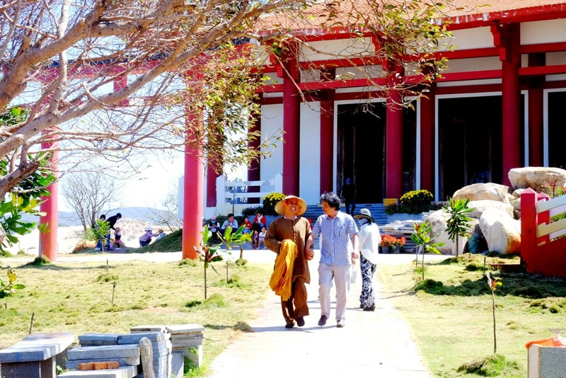 Đại đức từng là Bộ đội Cụ Hồ trồng 100 cây bàng vuông ở chùa  - ảnh 7