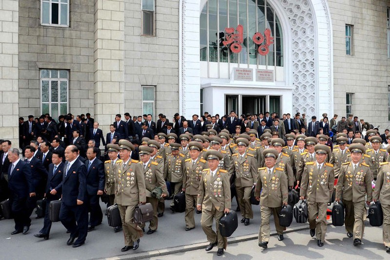 Triều Tiên khai mạc đại hội Đảng sau 36 năm - ảnh 3