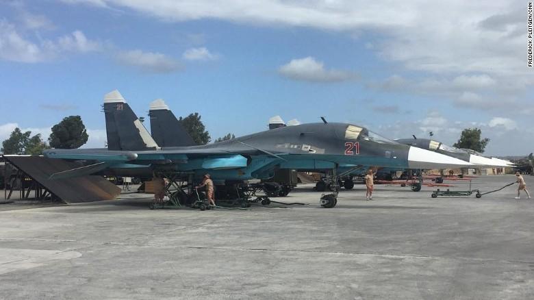 Sức mạnh không quân Nga vẫn rất mạnh ở Syria - ảnh 1