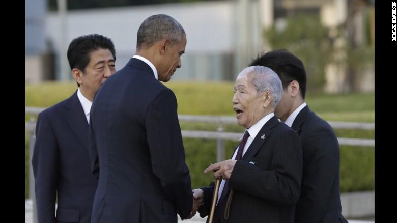 Tổng thống Obama thăm Hiroshima: Hãy vì một thế giới không vũ khí hạt nhân - ảnh 5