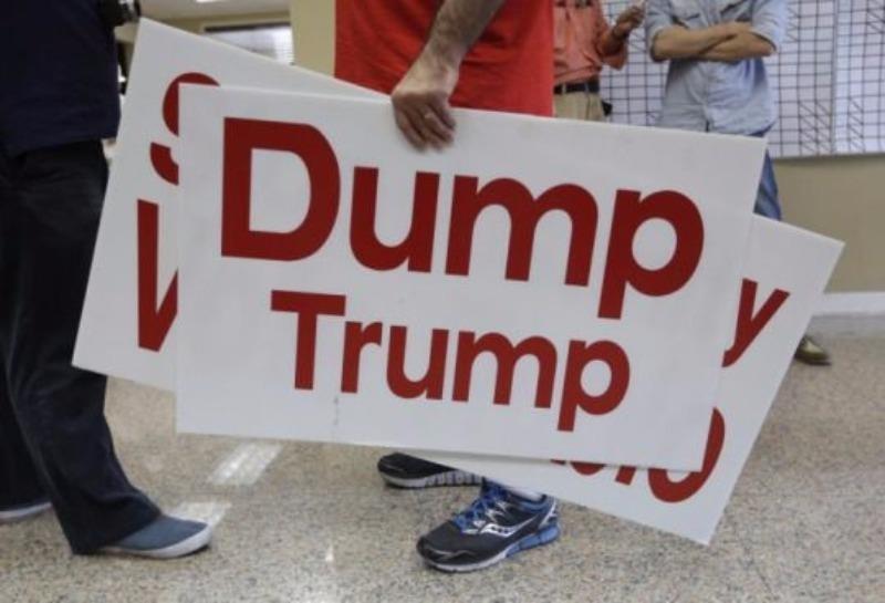 Đảng Cộng hoà đang ráo riết ngăn chặn Trump.