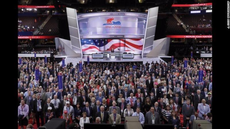 Đại hội đảng Cộng hòa khai mạc ngày 18-7.