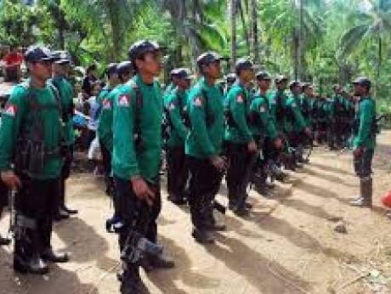 Các tay súng của nhóm phiến quân Maoist.