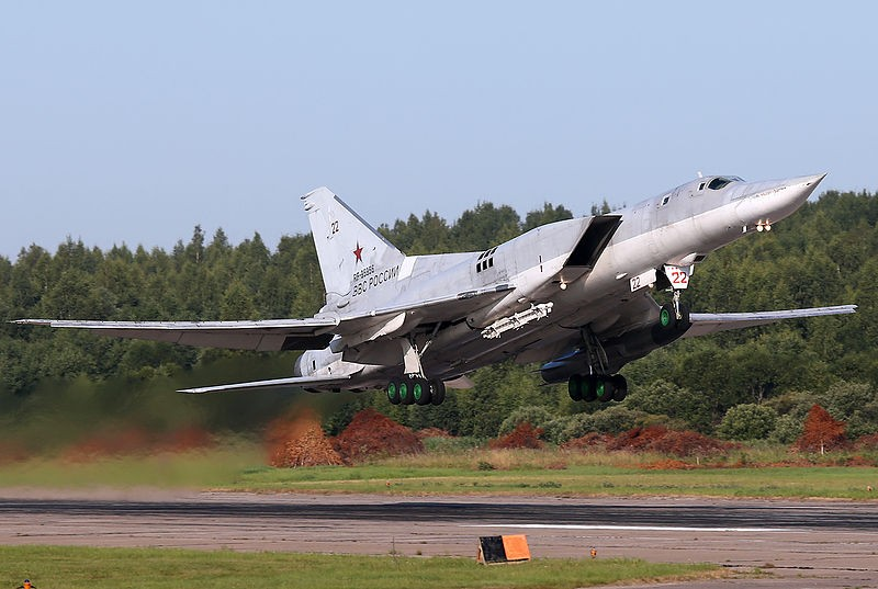 Máy bay ném bom Tu-22M3 sẽ tuần tra tam giác Japan- Hawaii-Guam.