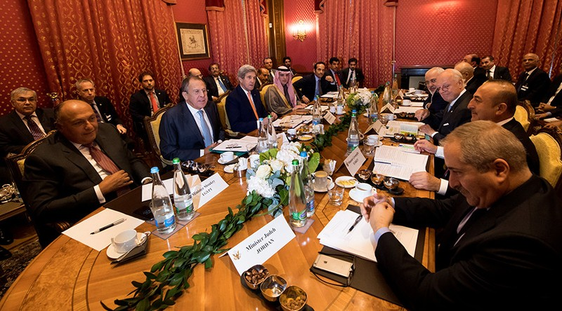 Các Ngoại trưởng Mỹ, Nga và các nước Trung Đông gặp nhau tại Geneve (Thụy Sĩ) ngày 15-10.