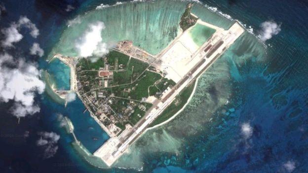 Trung Quốc triển khai trái phép lính phòng không ra đảo Phú Lâm thuộc quần đảo Hoàng Sa của Việt Nam.