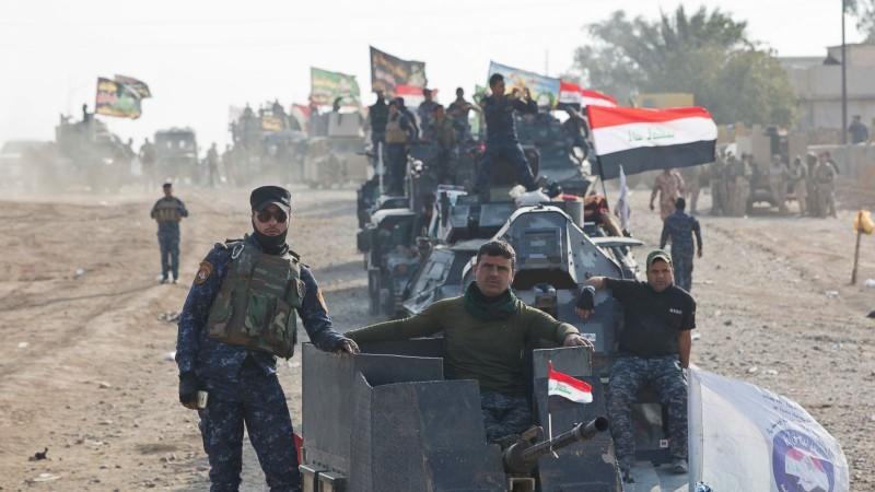 Lực lượng Iraq tiến vào Mosul.