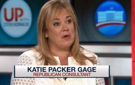 Nhà chiến lược Cộng hòa Katie Packer.