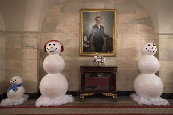 Nhà Obama chuẩn bị đón mùa Giáng sinh cuối ở Nhà Trắng - ảnh 11