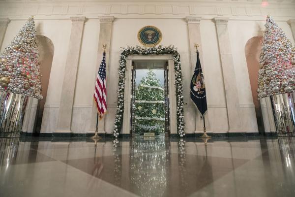 Nhà Obama chuẩn bị đón mùa Giáng sinh cuối ở Nhà Trắng - ảnh 13