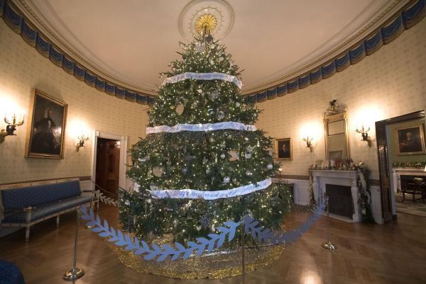 Nhà Obama chuẩn bị đón mùa Giáng sinh cuối ở Nhà Trắng - ảnh 6