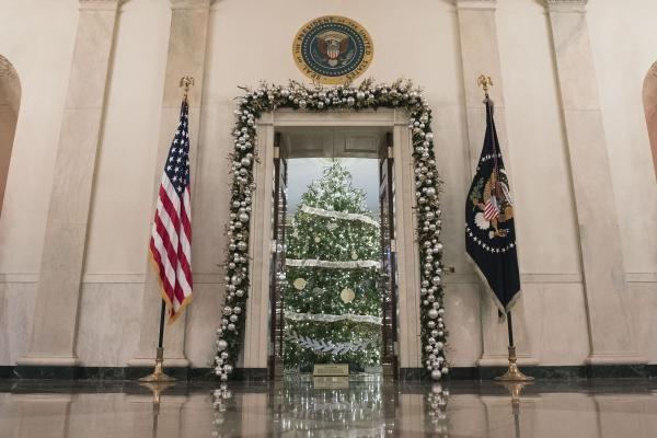 Nhà Obama chuẩn bị đón mùa Giáng sinh cuối ở Nhà Trắng - ảnh 7