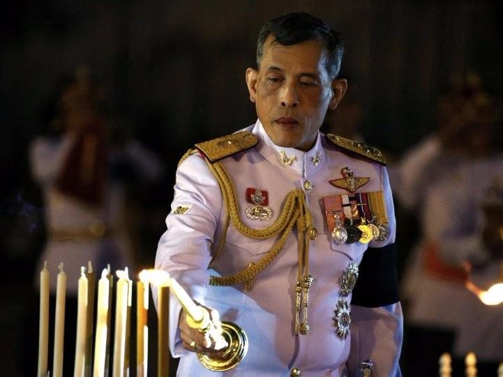Tân Quốc vương Thái Lan Maha Vajiralongkorn Bodindradebayavarangkun.