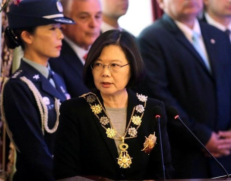 Lãnh đạo Đài Loan Thái Anh Văn. Ảnh: REUTERS