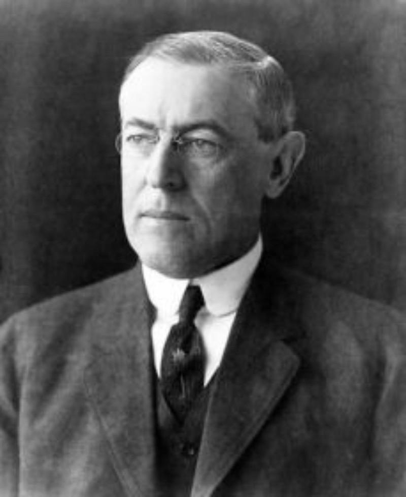 Tổng thống Woodrow Wilson