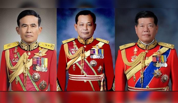 Ba thành viên mới trong Hội đồng Cơ mật dưới thời Quốc vương Maha