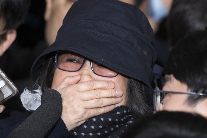 Bà Choi-Soon-sil, tâm điểm vụ bê bối bà Park đang dính vào – hiện đã vào tù. Ảnh: REUTERS