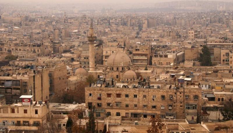 Old City ở Aleppo ngày 11-12-2009.