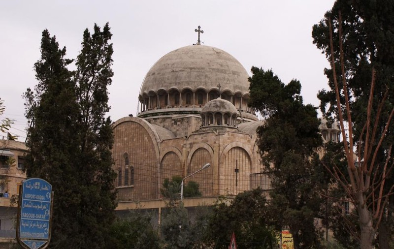 Một nhà thờ ở Aleppo ngày 12-12-2009.