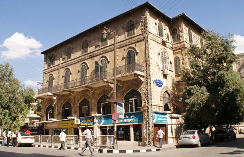 Tòan cảnh khách sạn huyền thoại Baron ở Aleppo ngày 6-10-2010.