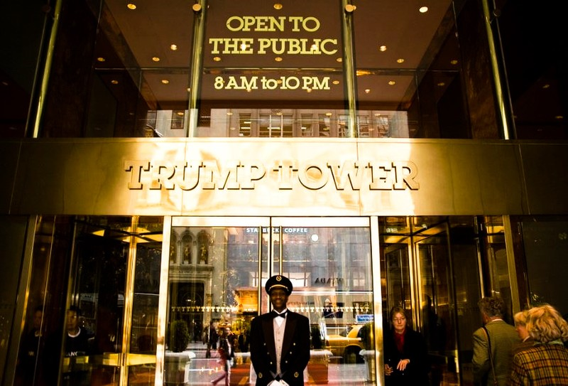 Cao ốc Trump Tower. Ảnh: FLICKR