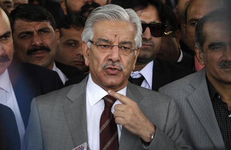 """Bộ trưởng Quốc phòng Pakistan Khawaja Mohammad Asif nhắc nhở Israel rằng """"Pakistan cũng là một quốc gia hạt nhân"""". Ảnh: AP"""