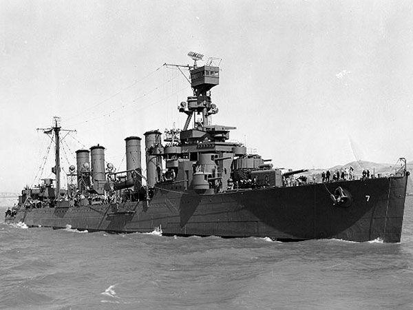 Tàu USS Raleigh hồi sinh chỉ 2 tháng sau trận đánh. Ảnh: THE DRIVE