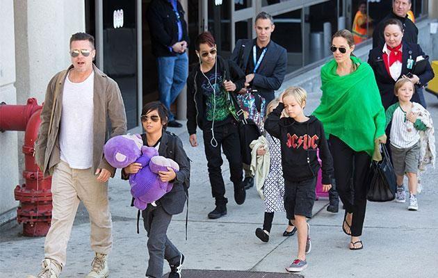 Vì các con, Brad-Jolie sẽ tha thứ, quên mọi tổn thương và về lại bên nhau? Ảnh: GETTY IMAGES