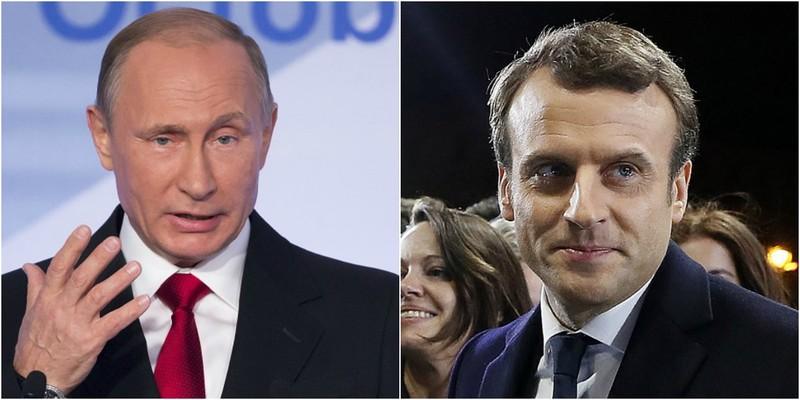 Tổng thống Pháp lần đầu 'thử lửa' với ông Putin - ảnh 2