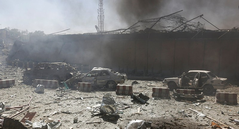 IS nhận trách nhiệm đánh bom ở Kabul ngày 31-5. Ảnh: REUTERS