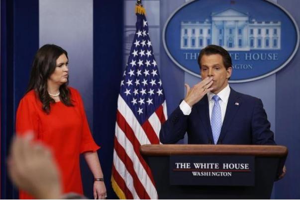 Bà Sarah Sander sẽ là phát ngôn viên Nhà Trắng và ông Anthony Scaramucci sẽ là Giám đốc Truyền thông Nhà Trắng. Ảnh: REUTERS
