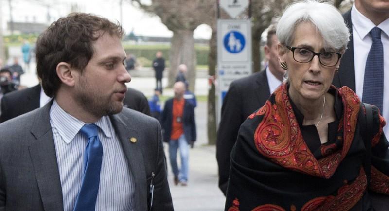Bà Wendy Sherman (phải), cựu quan chức ngoại giao thời Obama từng dẫn đầu phái đoàn thương lượng hạt nhân Iran của Mỹ. Ảnh: GETTY IMAGES
