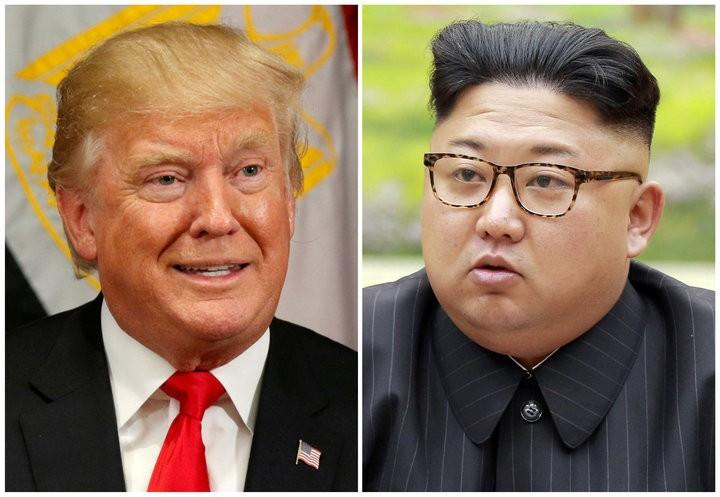 Hai ông Trump và Kim không tiếc lời chỉ trích nặng nề nhau. Ảnh: AP