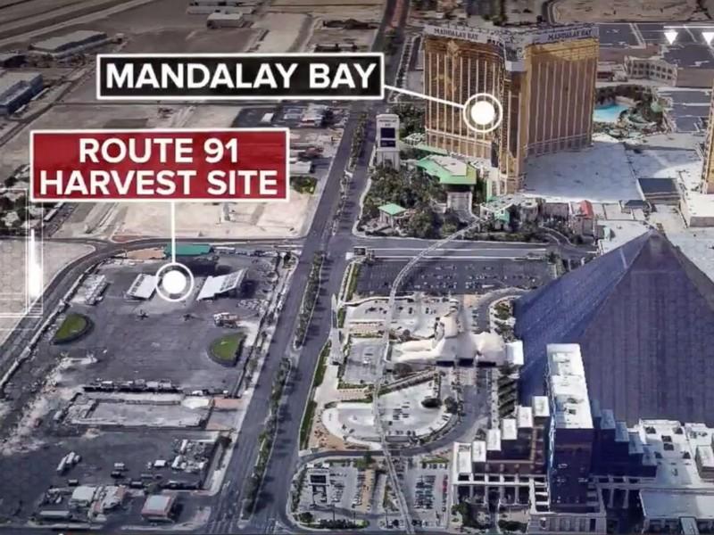 Hình ảnh địa điểm vụ xả súng. Ảnh: AP
