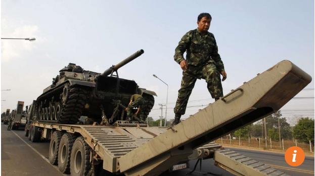 Thái Lan đang định dùng xe tăng Trung Quốc thay xe tăng Mỹ. Ảnh: SCMP