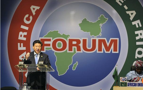 Chủ tịch Trung Quốc Tập Cận Bình tại một hội nghị thượng đỉnh Trung Quốc – châu Phi cuối tháng 9. Ảnh: SCMP