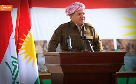 Lãnh đạo KRG Massoud Barzani nói sẽ không theo đuổi nhiệm kỳ mới khi nhiệm kỳ hiện tại kết thúc vào ngày 1-11 tới. Ảnh: RUDAW